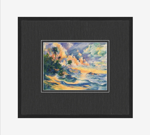 carib framed