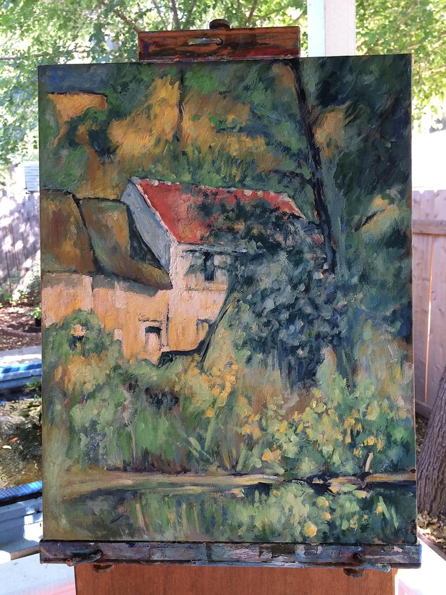 Cezanne copy