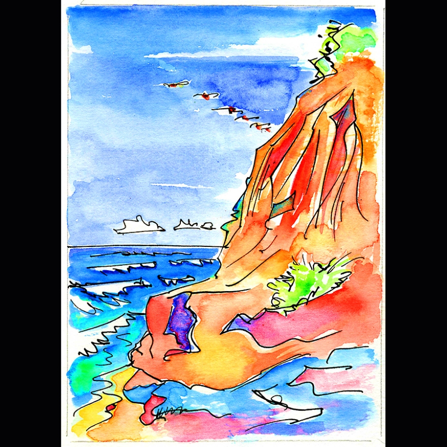 bluffs watercolor mr